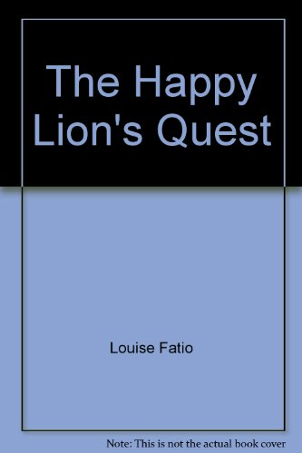 9780370007250: The Happy Lion's Quest