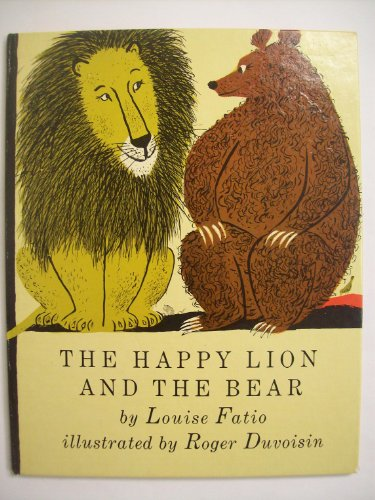 9780370007472: The Happy Lion and the Bear