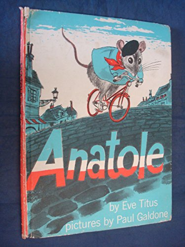 9780370007557: Anatole and the Poodle