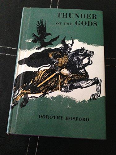 9780370010632: THUNDER OF THE GODS