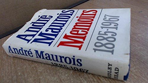 Memoirs: Andre Maurois