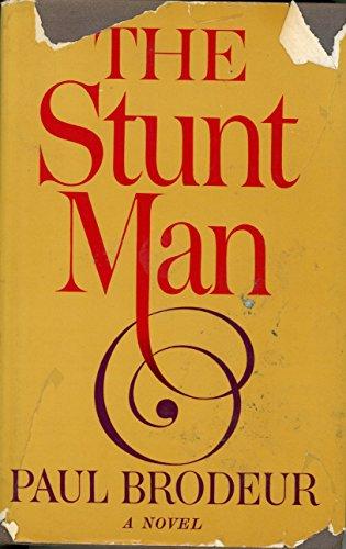 9780370014357: The Stunt Man