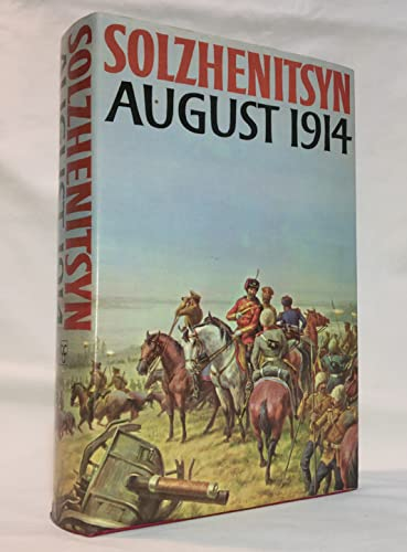 9780370014654: August 1914