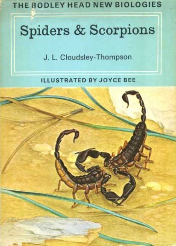 9780370015729: Spiders and Scorpions