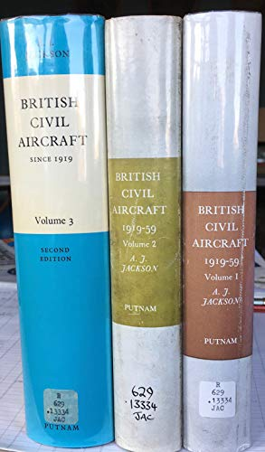 British Civil Aircraft Since 1919 volume 1: A.J.Jackson