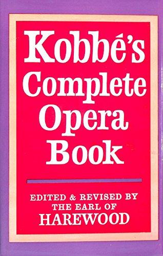 9780370100203: Complete Opera Book