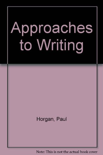 9780370103433: Approaches to Writing