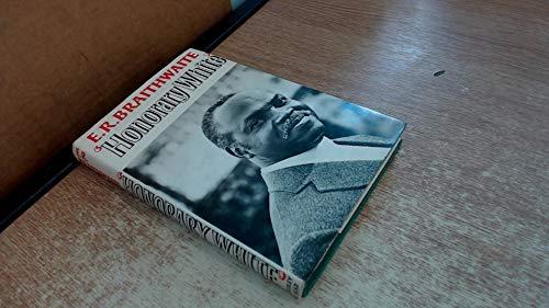 HONORARY WHITE.' A visit to South Africa.: Braithwaite, E. R.