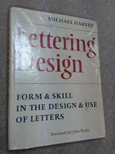 9780370103778: Lettering Design