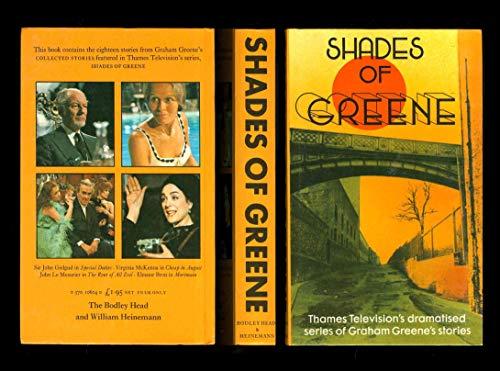 9780370106045: Shades of Greene