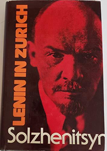 9780370106076: Lenin in Zurich