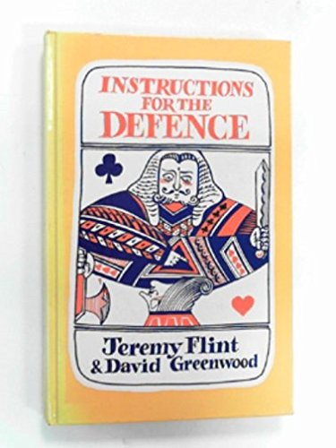 9780370300320: Instructions for the Defence