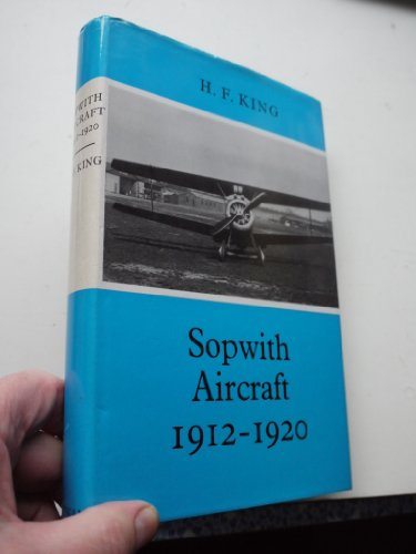 9780370300504: Sopwith Aircraft, 1912-1920