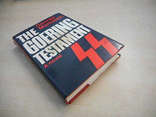 9780370300825: The Goering Testament