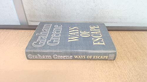 9780370303567: Ways of Escape