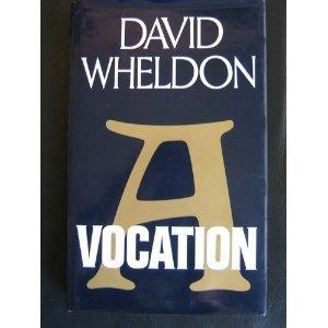 9780370307206: A Vocation