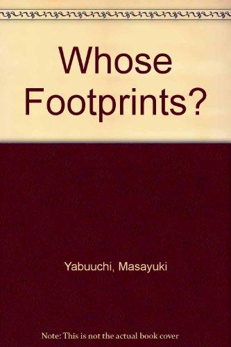 9780370308456: Whose Footprints?