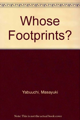 9780370308456: Whose Footprints?