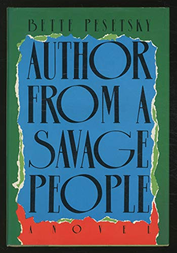 9780370309644: Author from a Savage People