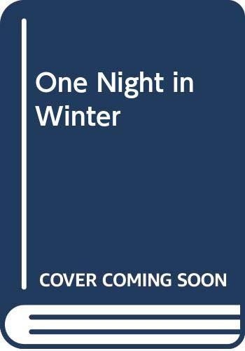 9780370309705: One Night in Winter
