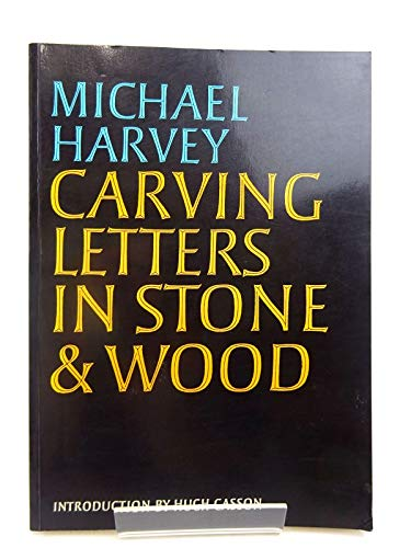 9780370310190: Carving Letters in Stone & Wood