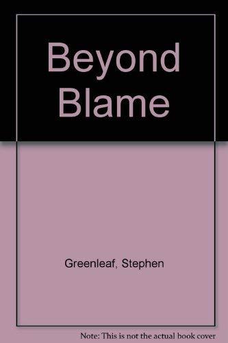 9780370310541: Beyond Blame