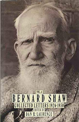 9780370311302: Collected Letters: 1926-50 v. 4 (Bernard Shaw: collected letters)