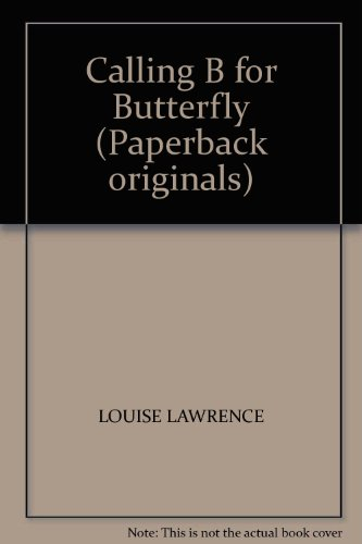9780370312569: Calling B for Butterfly (Paperback Originals)