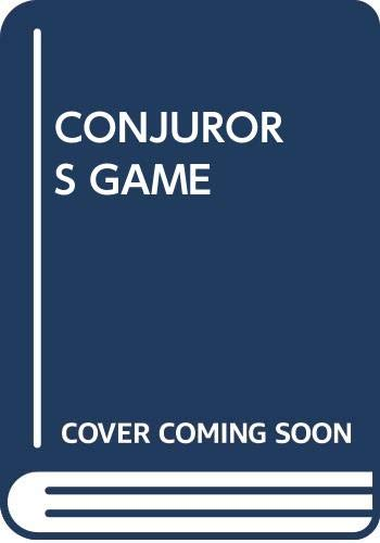 9780370314129: THE CONJUROR'S GAME