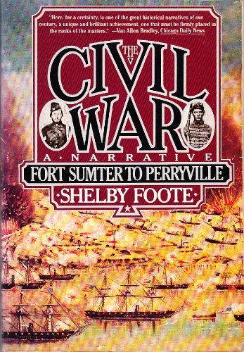 9780370316437: The Civil War: Fort Sumter to Perryville v. 1