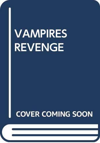 9780370317724: VAMPIRE'S REVENGE