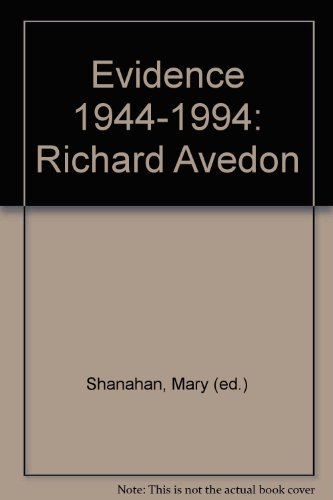 9780370322117: Evidence 1944-1994: Richard Avedon