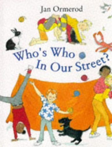 9780370323565: Who's Who in Our Street