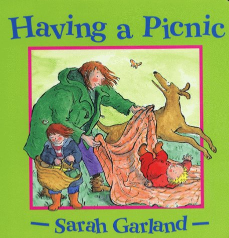 9780370325620: Having a Picnic (Sarah Garland board books)