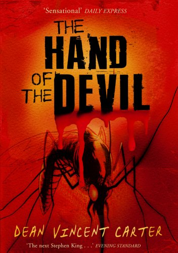 THE HAND OF THE DEVIL - Uncorrected proof copy - SIGNED: Carter Dean Vincent