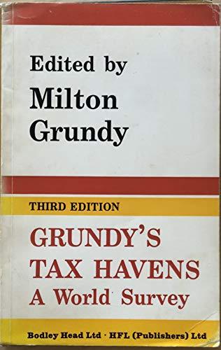 9780372016076: Tax Havens: A World Survey