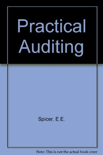9780372300113: Practical Auditing