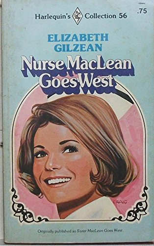 9780373004904: Nurse Maclean Goes West