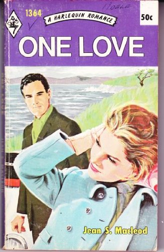 ONE LOVE. ( Harlequin # 1364 in the Original Vintage Collectible HARLEQUIN Mass Market Paperback ...