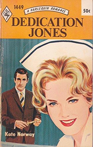 Dedication Jones (Harlequin Romance, No. 1449): Norway, Kate