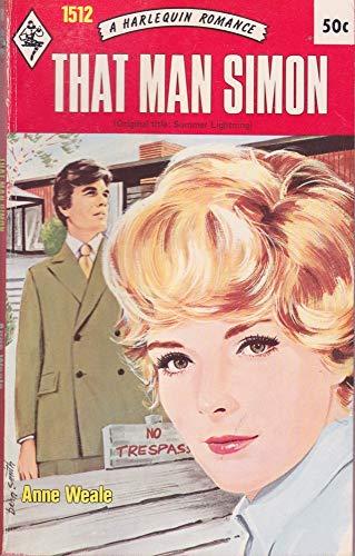 That Man Simon: Anne Weale