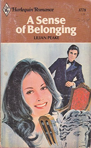 9780373017782: A sense of Belonging