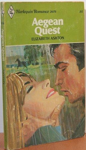 Aegean Quest: Elizabeth Ashton