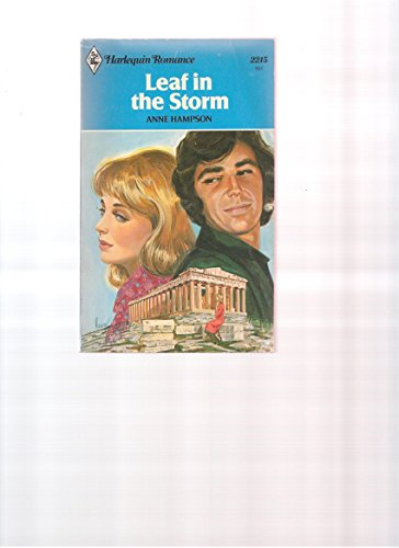 9780373022151: Leaf in the Storm (Harlequin Romances, 2215)