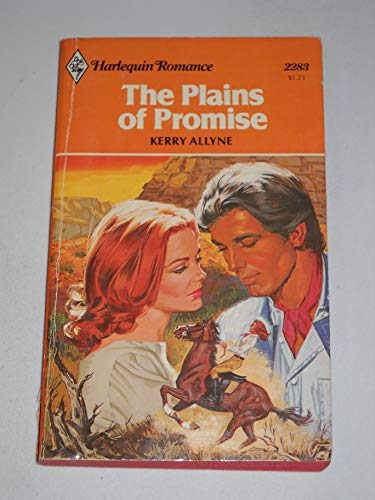 The Plains of Promise (Harlequin Romance, No: Allyne, Kerry