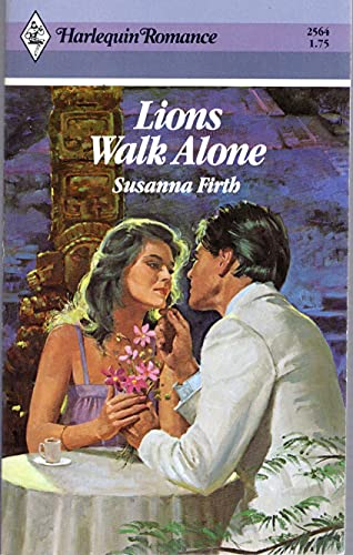 9780373025640: Lions Walk Alone