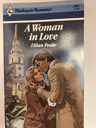 A Woman In Love: LILIAN PEAKE