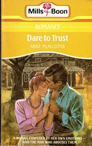 9780373027217: Dare To Trust