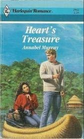 Heart's Treasure (Harlequin Romance, No. 2932): Murray, Annabel