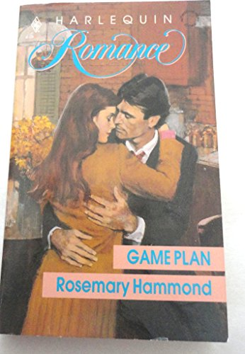 Game Plan (Harlequin Romance Series, No. 3026)